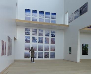 Foto Bianca Runge in museum Le Secet
