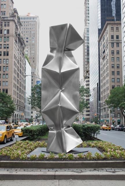 Triple NY, installation view Park Avenue, 2014