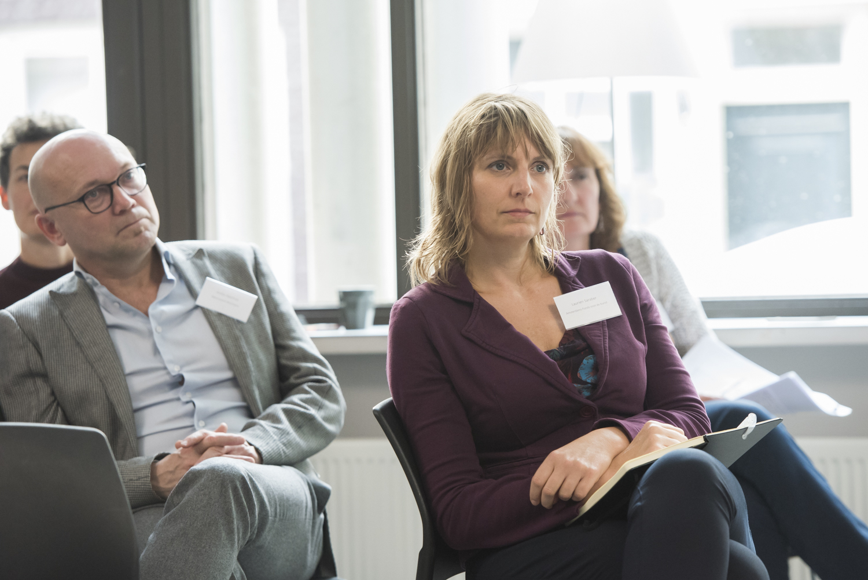 Foto Laurien Saraber, adjunct-directeur Amsterdams Fonds voor de Kunst