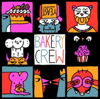 Illustratie The Bakery Crew