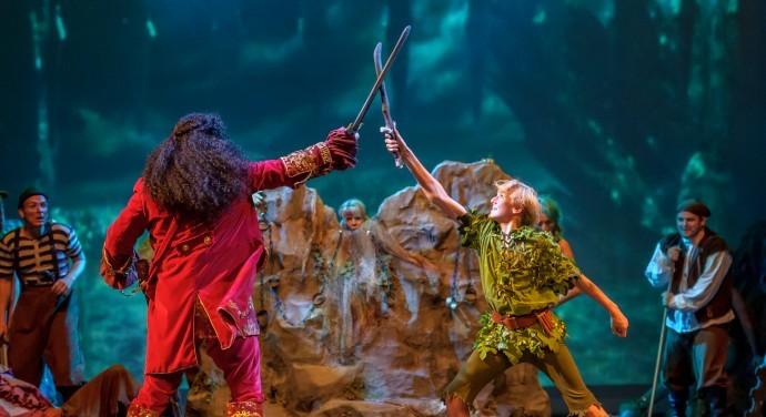 Foto voorstelling musical Peter Pan