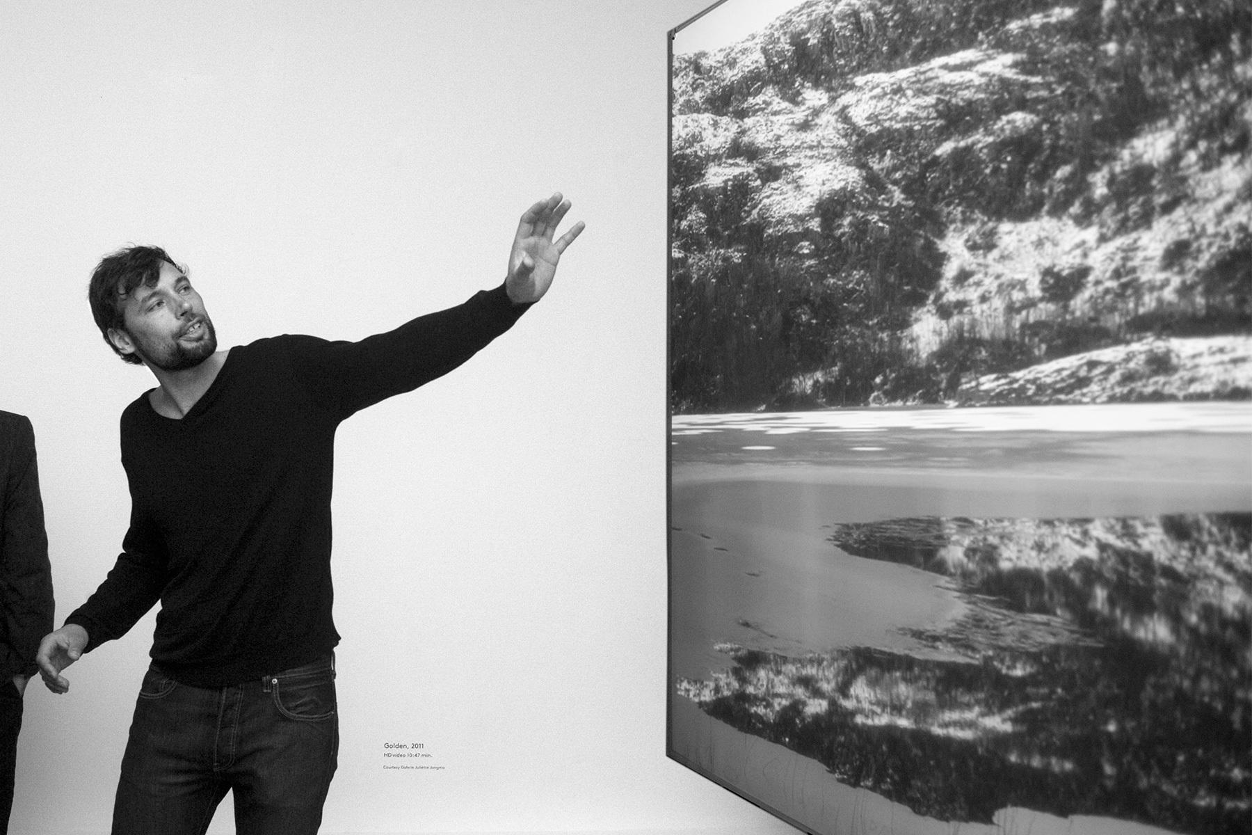 Foto: Misha de Ridder opening tentoonstelling