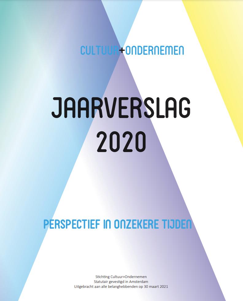 Jaarverslag 2020 Cultuur+Ondernemen