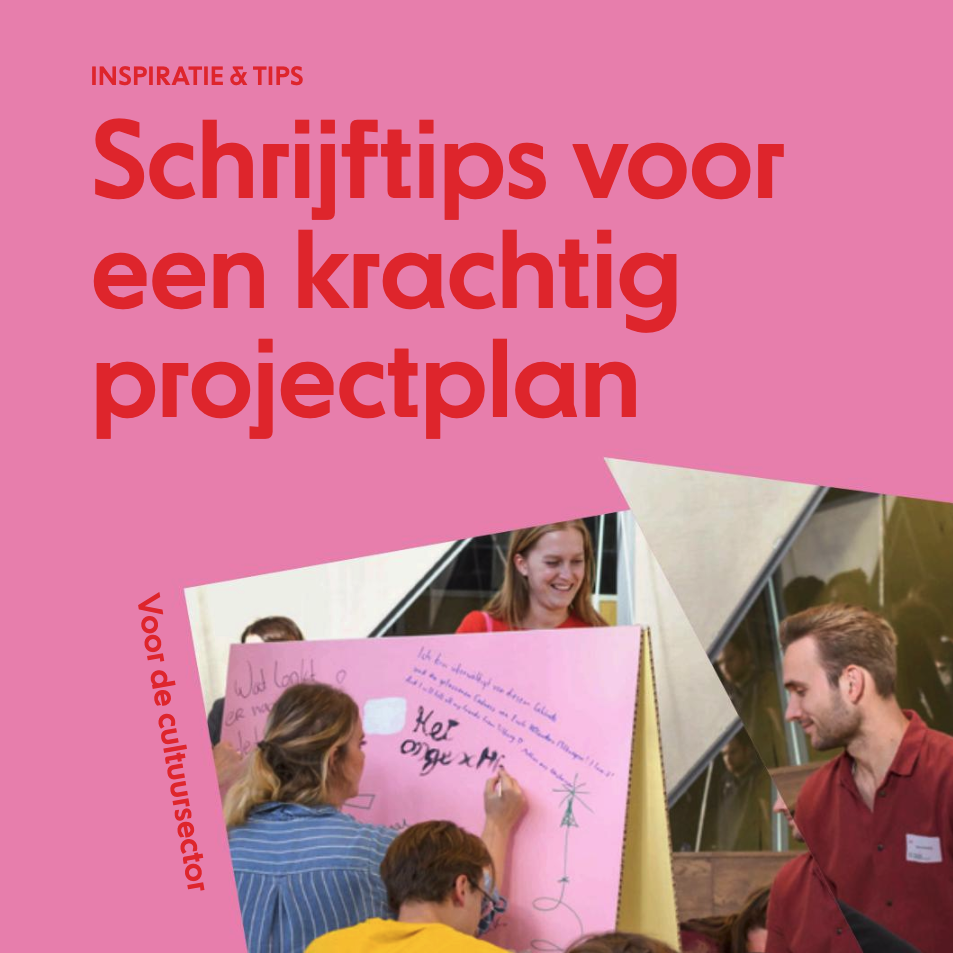 Publicatie - Schrijftips voor een krachtig projectplan