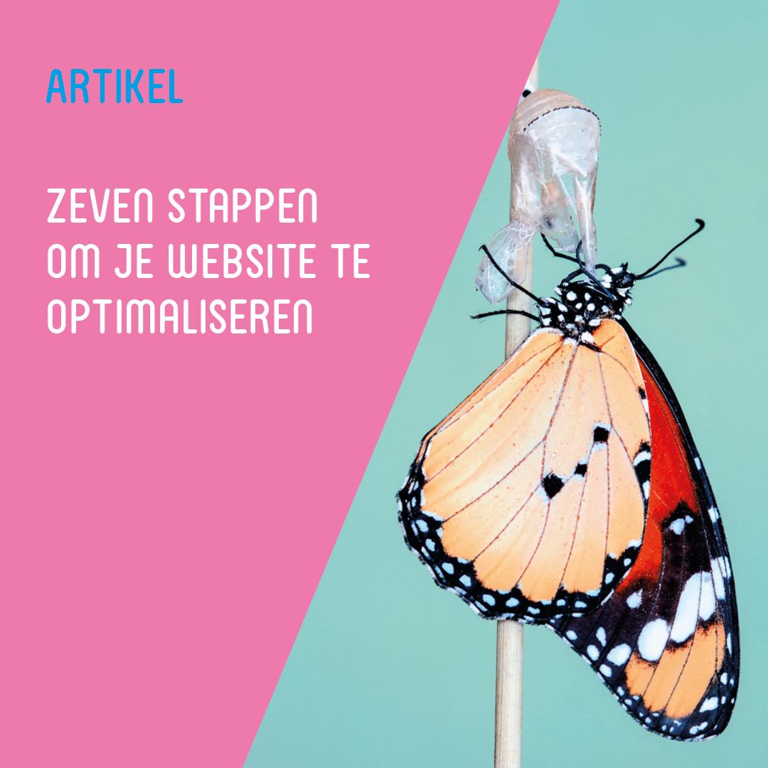 Zeven stappen om je website te optimaliseren