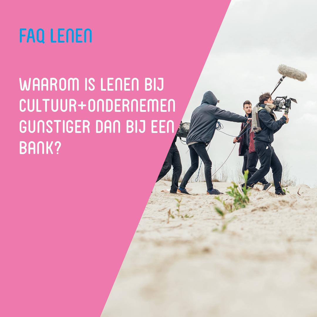 FAQ Lenen - gunstiger dan de bank