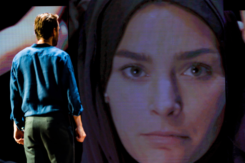 Voorstelling Laura H. Foto: Bas de Brouwer