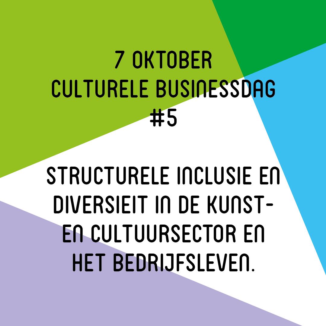 Culturele Businessdag #5