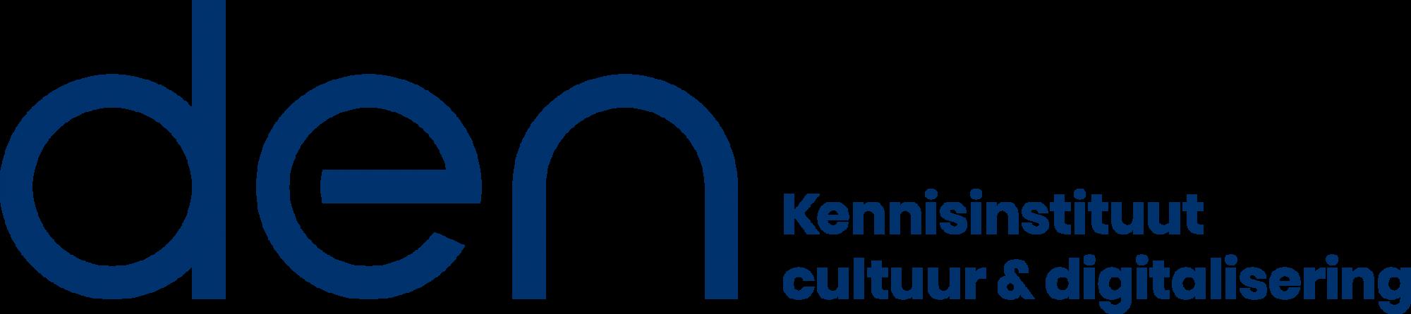 Logo DEN - Kennisinstituut Cultuur & Digitalisering