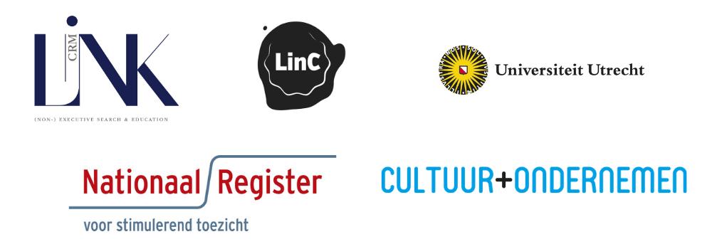 Partnerlogo's Leergang Toezichthouders in Cultuur