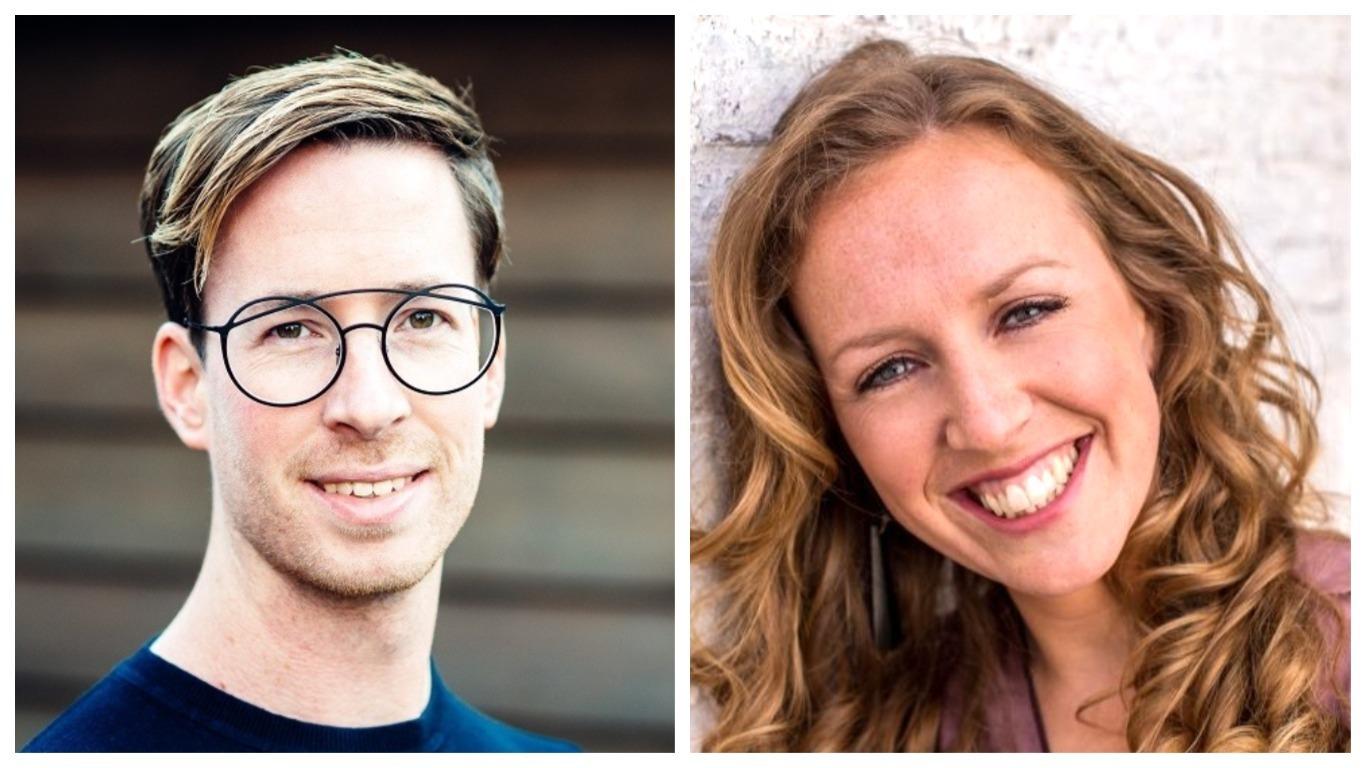 Dubbelportret Roel Funcken en Jojanneke van de Weetering